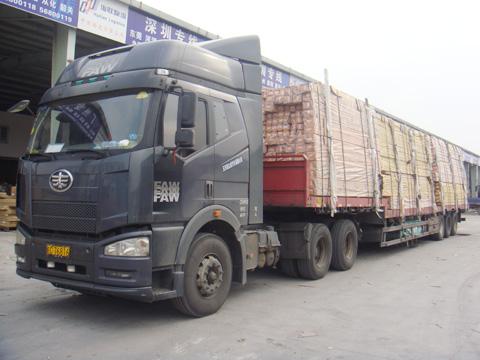 宁波物流输运车队